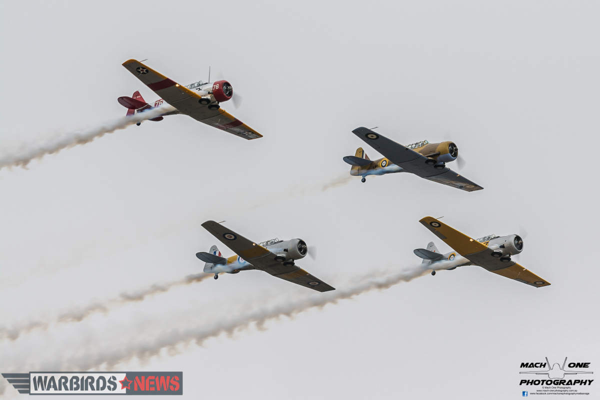 The Southern Knights open the 2016 Tyabb Airshow! (photo by Matt Savage)