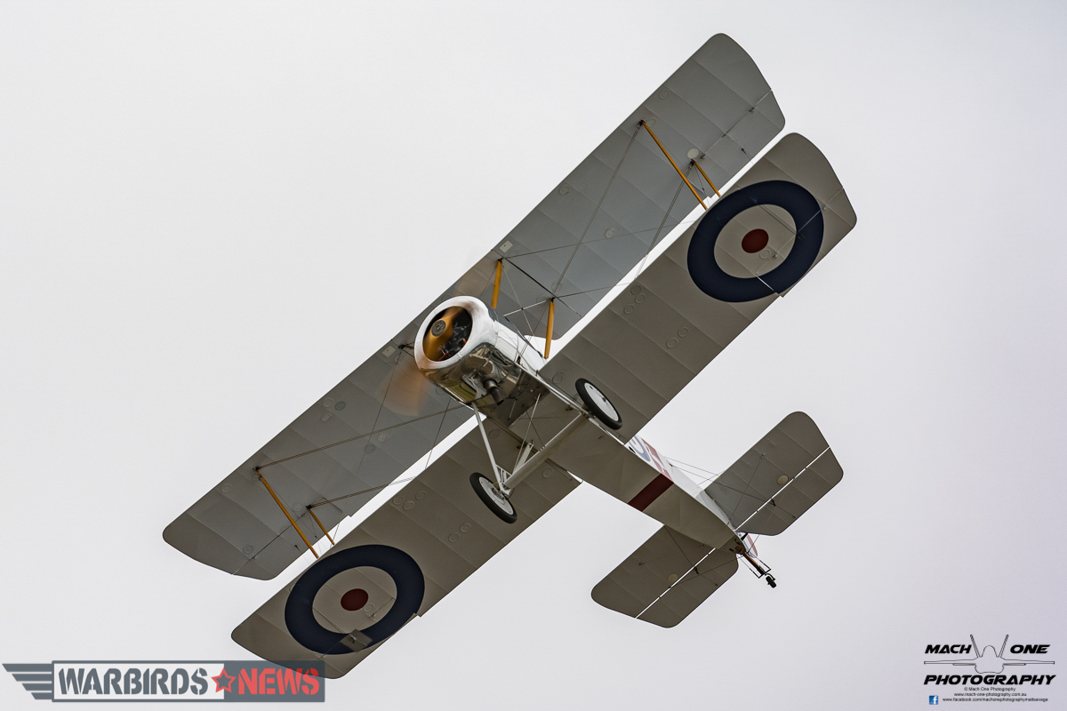 RAAF Museum Sopwith Pup replica. (photo by Matt Savage)
