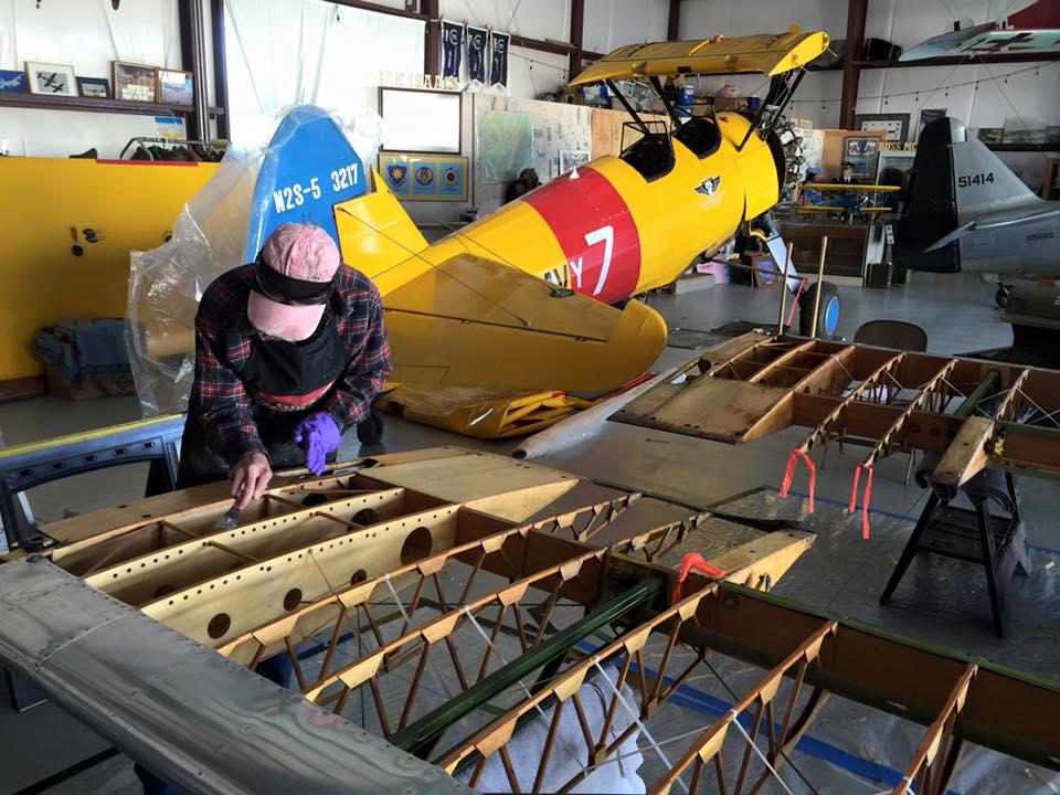 Utah Wing Boeing PT-17_N2S Stearman