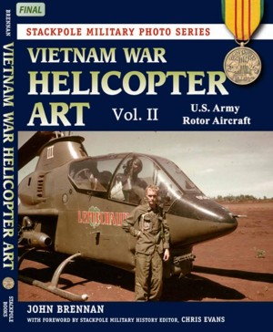 Click HERE to buy your copy of Vietnam War Helicopter Art: Vol. 2, U.S. Army Rotor Aircraft.