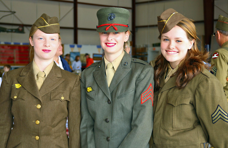 WWIIHD Female Reenactors