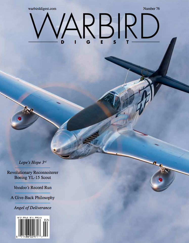 Subscribe to Warbird Digest Magazine
