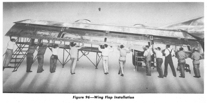 Wing Flap Installation