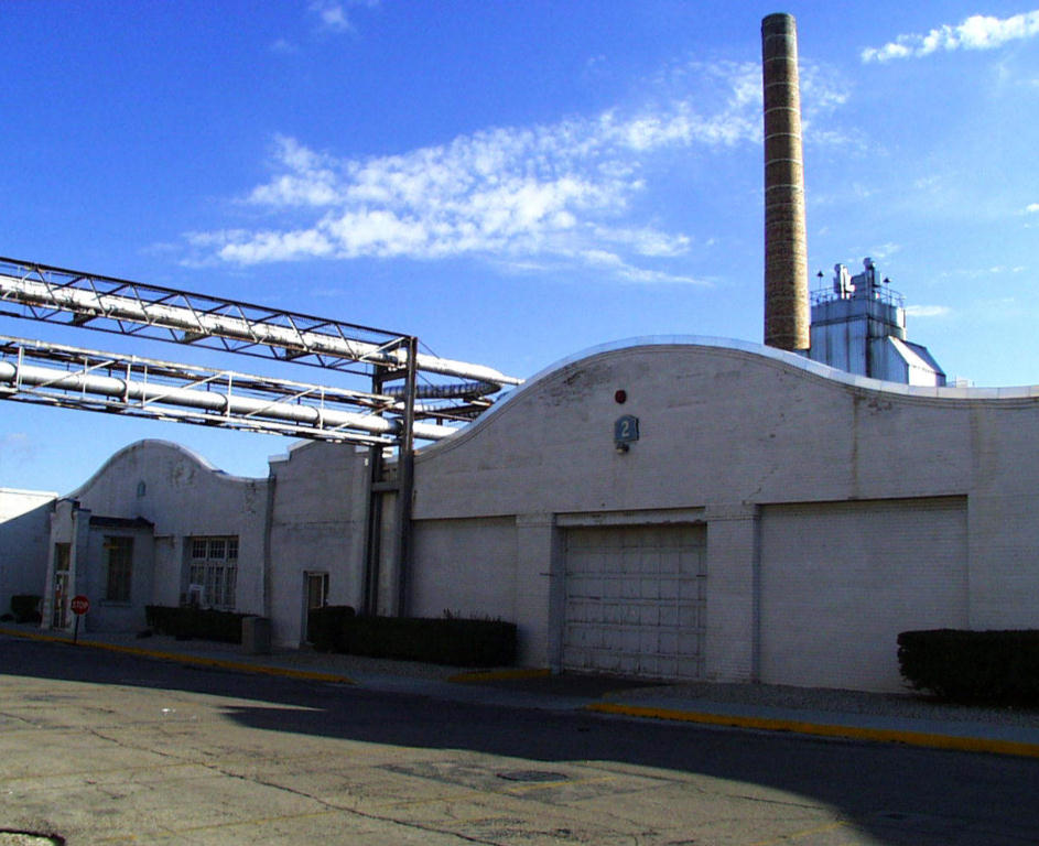 The Wright factory buildings as they appear today. Both buildings were truncated when Delphi put in a steam plant. ( Image credit the Wright Brothers Aeroplane Company Virtual Museum)