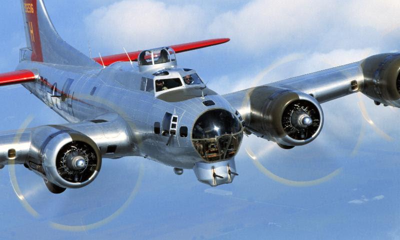 """X  Boeing B-17 """"Aluminum Overcast"""""""