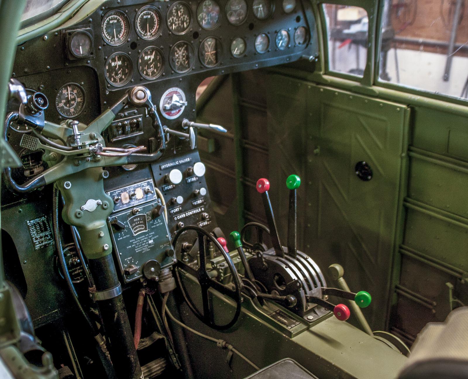 The Bolingbroke's cockpit. (photo via Benoit deMulder)