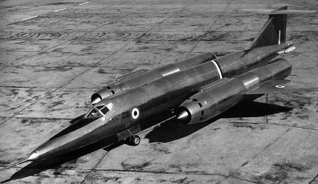 The Bristol 188 more resembles something out of a science fiction movie than an aircraft of the day. While the type had a very brief career, it proved scientifically very useful in the development of future aircraft. (MOD photo)