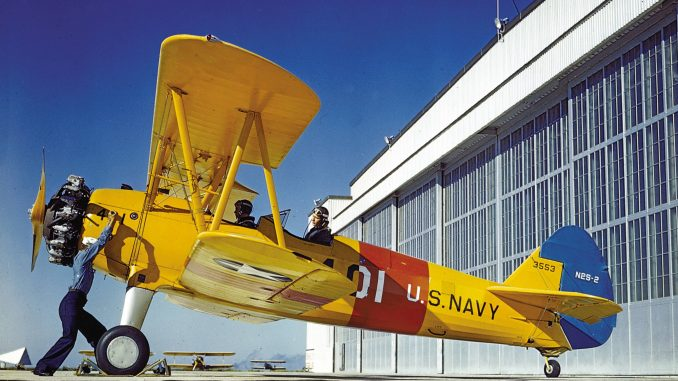 CAF Dixie Wing Adds Stearman PT-17 Biplane to Its WWII Fleet
