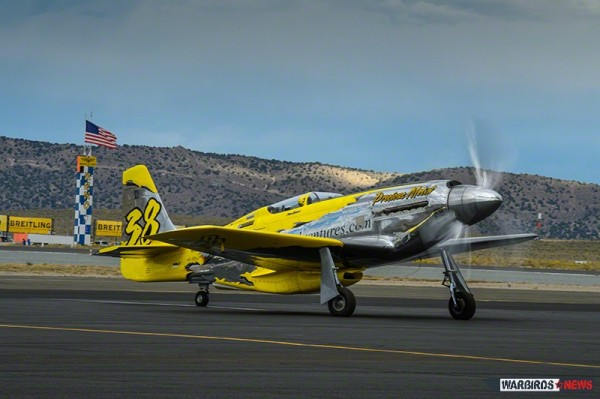 The world's only Rolls Royce Griffon powered P-51 Mustang. Flown by Thom Richard and based at the Kissimmee Air Museum in central Florida. ( Image Credit Moose Peterson)