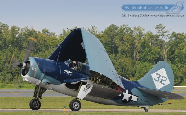 Here is one of our photos of the world's only airworthy SB2C Helldiver from the Commemorative Air Force's West Texas Wing at the 2012 Naval Air Station Oceana Air Show.