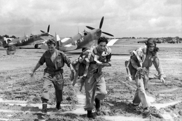 Spitfires in Burma in WWII