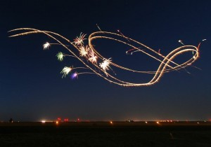 On Friday the GGAS will feature a first ever night airshow.